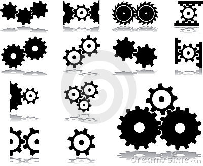 Set icons - 31. Gears