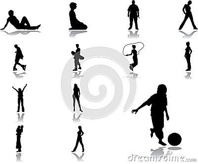 Set icons - 47. People