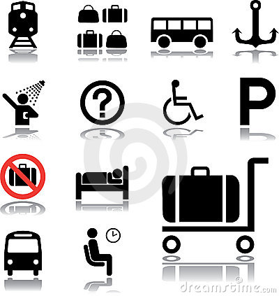 Set icons - 84. Transport icons