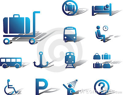 Set icons-84A. Transport icons