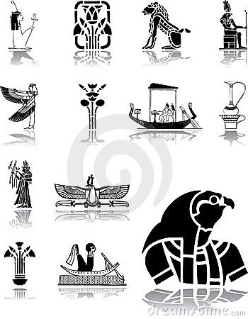 Set icons - 96. Egypt