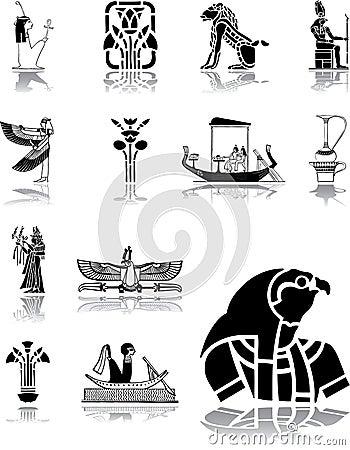Set icons - 96. Egypt