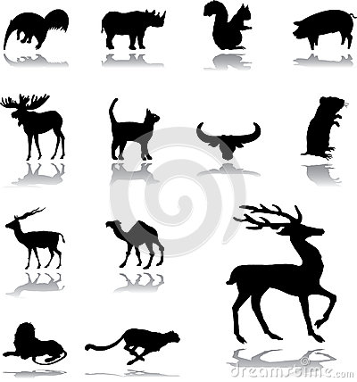 Set icons - 159. Animals