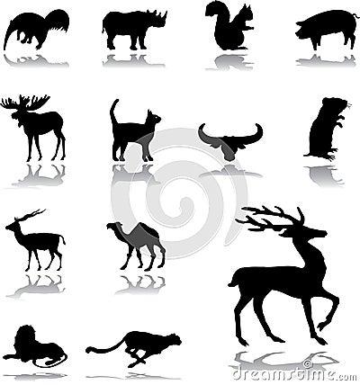 Set icons - 159. Animals