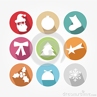 Set of icons - Christmas