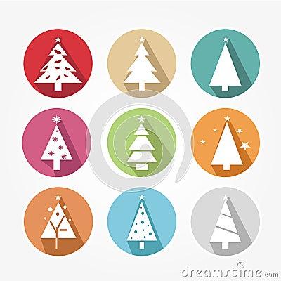 Set of icons - Christmas