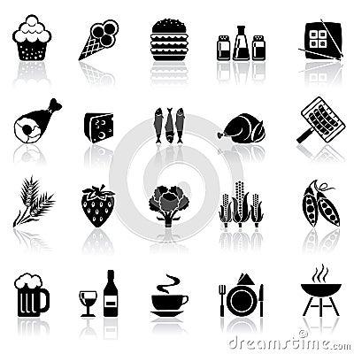 Free Set Icons Food Stock Image - 49290731