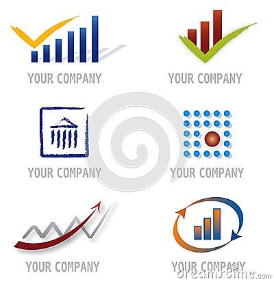 Set of Icons for Logo Design