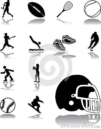 Set icons - 150. Sport