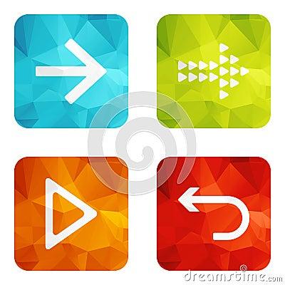 Set icons Vector Illustration