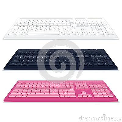 Set of Keyboards