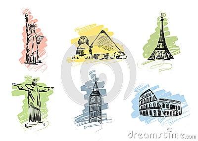 Set landmarks