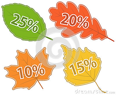 Set of Leaves with Discount Values