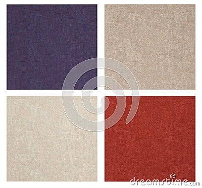 Set of linen texture.