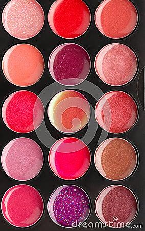 Set of lip glosses