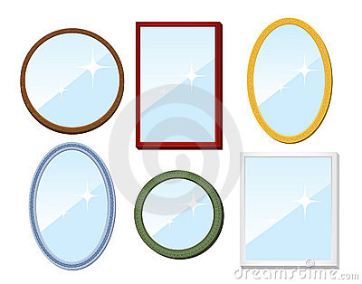 Set of mirrors