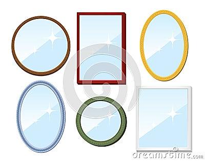 Set of mirrors