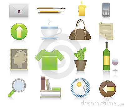 Set of miscellaneous icons