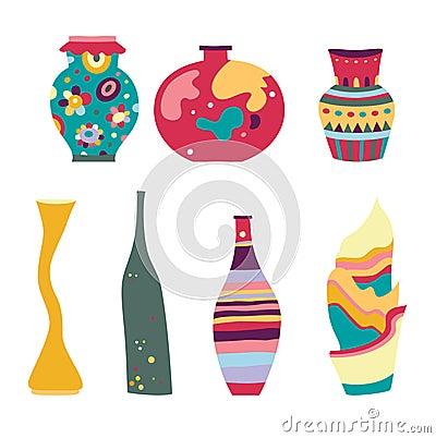 Set of Modern Vases
