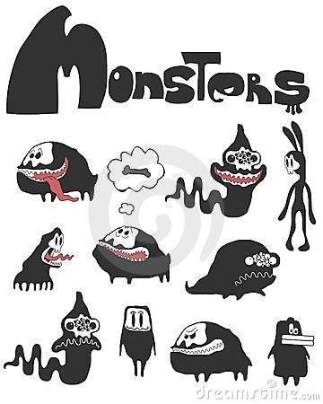The set of monsters