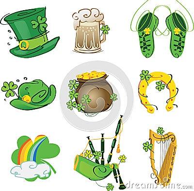 Set of motives for St. Patrick s Day