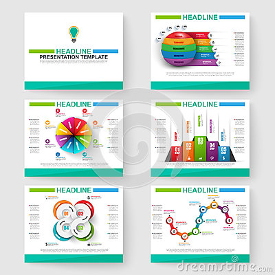 Set Of Presentation Slide Templates Powerpoint Vector – Powerpoint Flyer Template