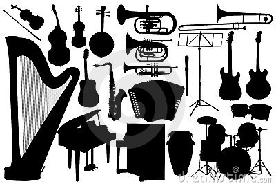 Set music instrument
