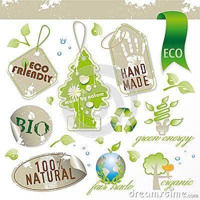 Set of new ecological elements