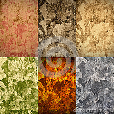 Free Set Of Abstract Backgrounds Royalty Free Stock Images - 54756819