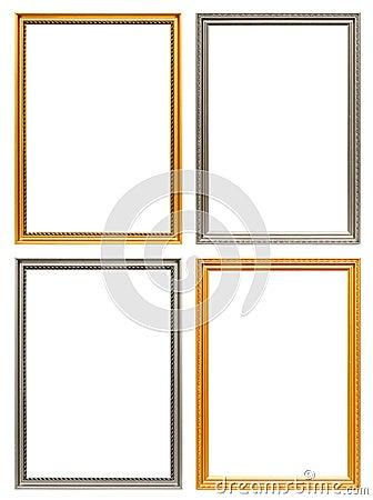Free Set Of Art Frames Stock Photos - 16100913