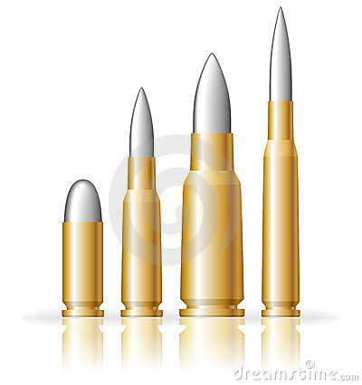 Free Set Of Bullets Stock Photo - 15634710