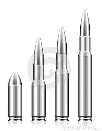 Free Set Of Bullets Royalty Free Stock Photography - 16588977