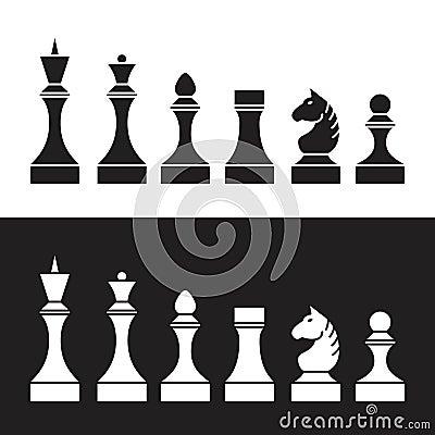 Free Set Of Chess Pieces (chessmen),  Stock Photos - 58902723