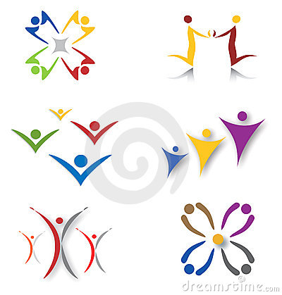 Free Set Of Community / Social Network Icons Royalty Free Stock Images - 15139259