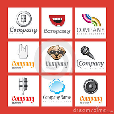 Free Set Of Company Logos Stock Photos - 13941763