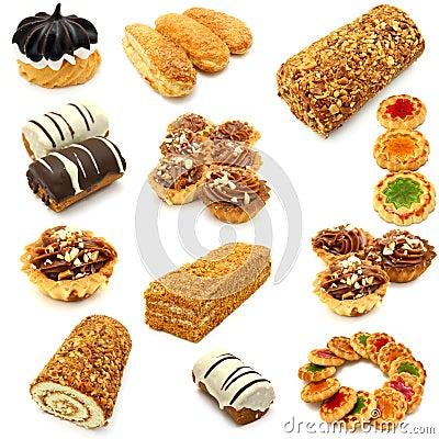 Free Set Of Cookies Royalty Free Stock Image - 17582416