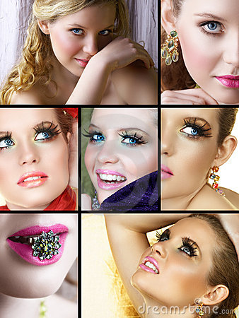 Free Set Of Fashion Woman Stock Photo - 7910240