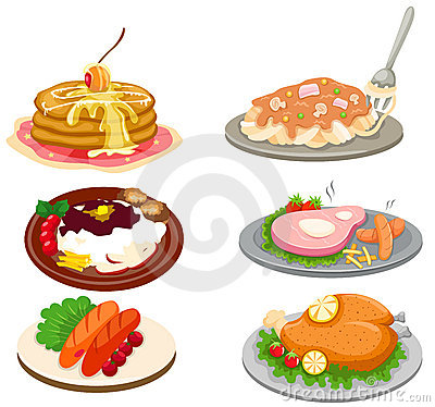 Free Set Of Food Stock Images - 17591054