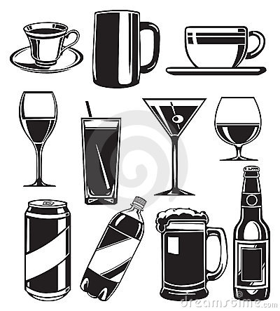 Free Set Of Glasses For Drinks Stock Photo - 5741190