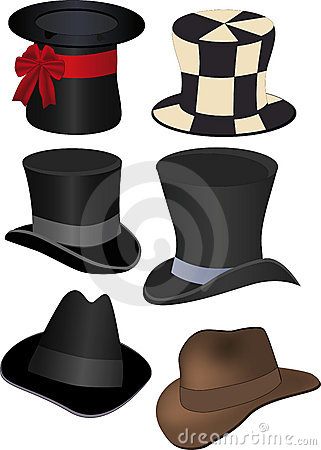 Free Set Of Hats Stock Photo - 16654260