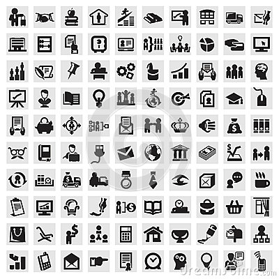 Free Set Of Icons. Business Stock Photos - 30404463