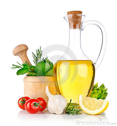 Free Set Of Ingredients And Spice For Food Cooking Stock Photography - 18218942
