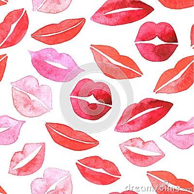 Free Set Of Lips. Flat Icons. Royalty Free Stock Photography - 48130897