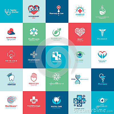 Free Set Of Medical Icons Stock Photography - 35413082