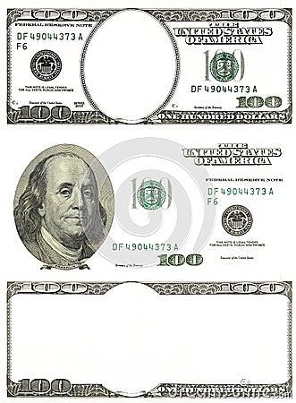 Free Set Of Original Detail Dollars Isolated On White Background Royalty Free Stock Photos - 69033638