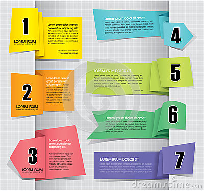 Free Set Of Paper Tag Labels Royalty Free Stock Photo - 26941665