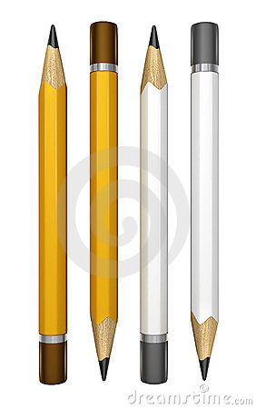 Free Set Of Pencils For Drawing Royalty Free Stock Photography - 4901747