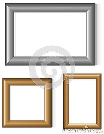 Free Set Of Photo Frames Stock Photos - 19350423