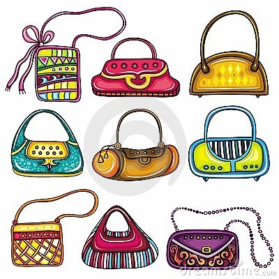 Free Set Of Purses Stock Photos - 18980903