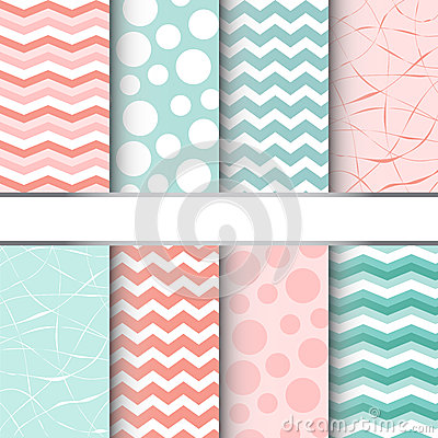 Free Set Of Seamless Patterns Royalty Free Stock Images - 36539839